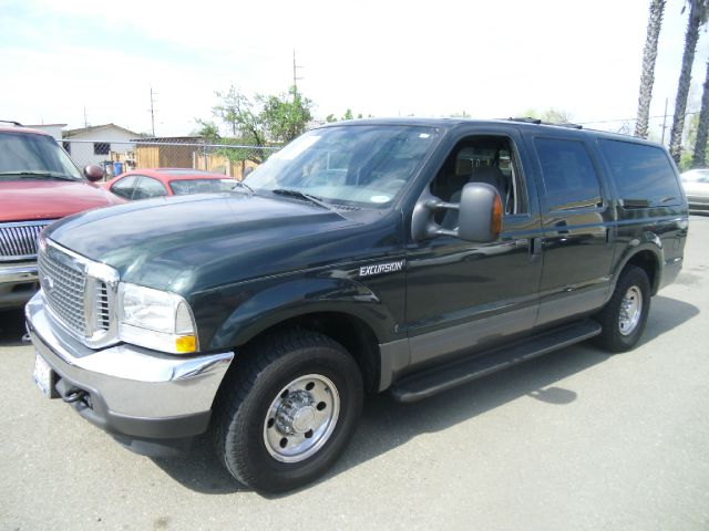 2004 FORD EXCURSION XLT 4DR SUV green abs - 4-wheel anti-theft system - alarm axle ratio - 373