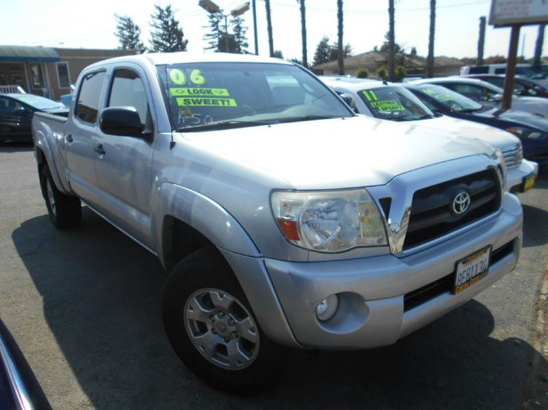 2006 TOYOTA TACOMA V6 4DR DOUBLE CAB 4WD 4L 5A silver 4wd selector - manual hi-lo 4wd type - p