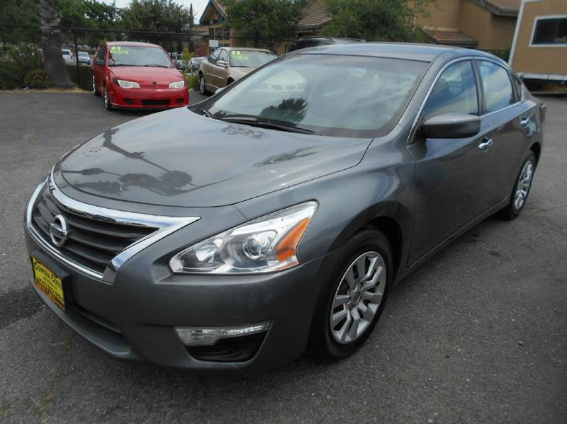 2014 NISSAN ALTIMA 25 S 4DR SEDAN charcoal 2-stage unlocking doors abs - 4-wheel active head re