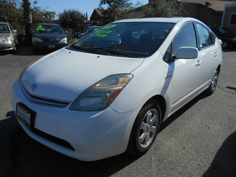 2007 TOYOTA PRIUS 4DR HATCHBACK white 2-stage unlocking doors abs - 4-wheel air filtration air