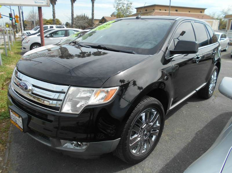 2009 FORD EDGE LIMITED 4DR SUV black 2-stage unlocking doors abs - 4-wheel air filtration airb