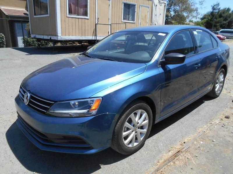 2015 VOLKSWAGEN JETTA SE PZEV 4DR SEDAN 6A blue 2-stage unlocking doors abs - 4-wheel active he