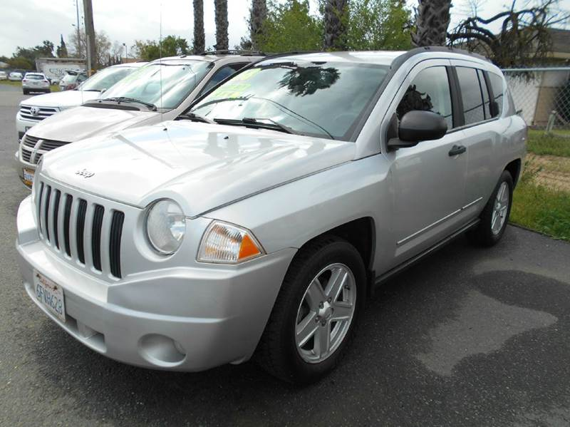 2008 JEEP COMPASS SPORT 4X4 4DR SUV WCJ1 silver 4wd type - full time abs - 4-wheel airbag deac