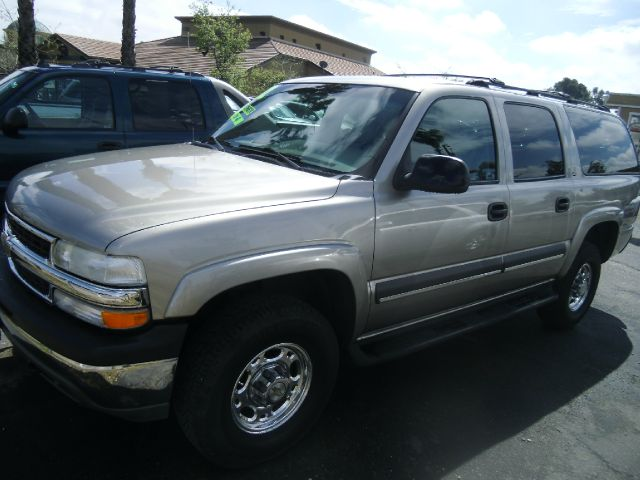 2002 CHEVROLET SUBURBAN 2500 LS 4WD 4DR SUV gray abs - 4-wheel anti-theft system - alarm axle r