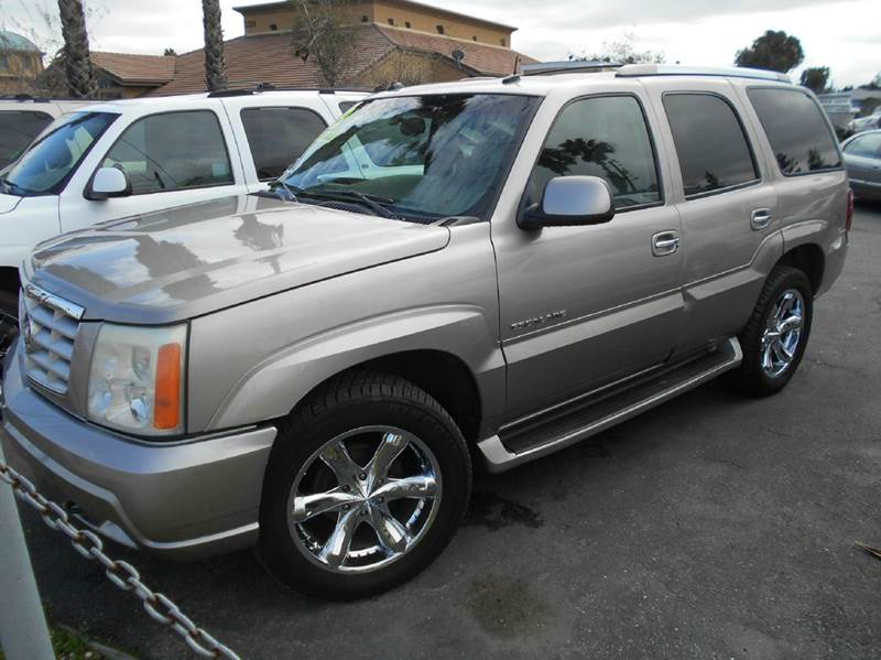 2003 CADILLAC ESCALADE BASE AWD 4DR SUV silver abs - 4-wheel active suspension adjustable pedal