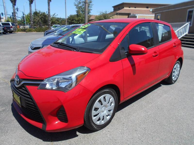2015 TOYOTA YARIS 5 DOOR L 4DR HATCHBACK red abs - 4-wheel air filtration airbag deactivation -