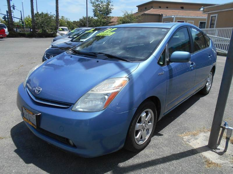 2007 TOYOTA PRIUS BASE 4DR HATCHBACK blue 2-stage unlocking doors abs - 4-wheel air filtration