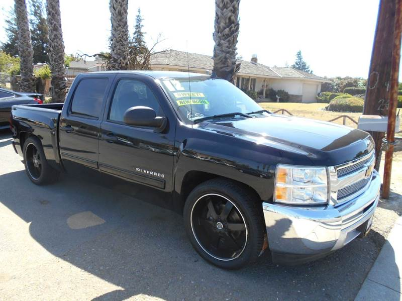 2012 CHEVROLET SILVERADO 1500 LT 4X2 4DR CREW CAB 58 FT SB black abs - 4-wheel alternator - 14