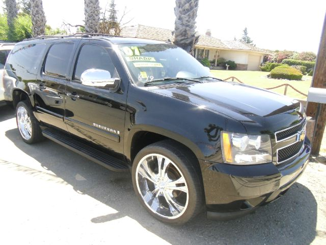 2007 CHEVROLET SUBURBAN LT 1500 4DR SUV black 2-stage unlocking - remote abs - 4-wheel adjustabl