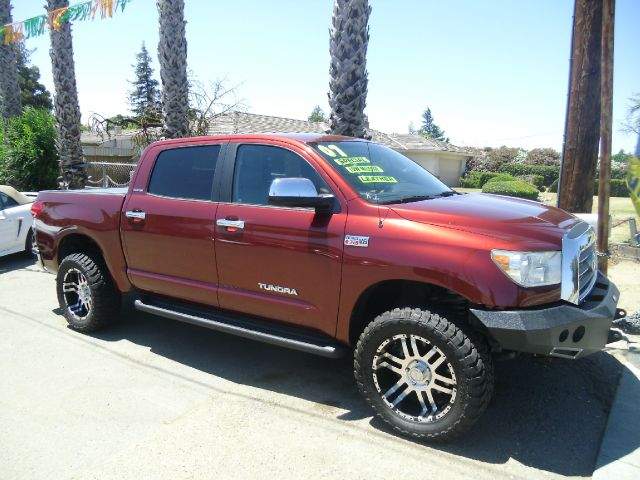 2007 TOYOTA TUNDRA LIMITED 4X2 PICKUP CREW CAB red 2-stage unlocking - remote abs - 4-wheel adju