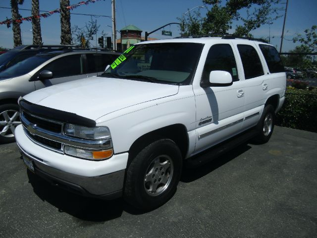 2001 CHEVROLET TAHOE LT 4WD 4DR SUV white abs - 4-wheel alloy wheels anti-theft system - alarm