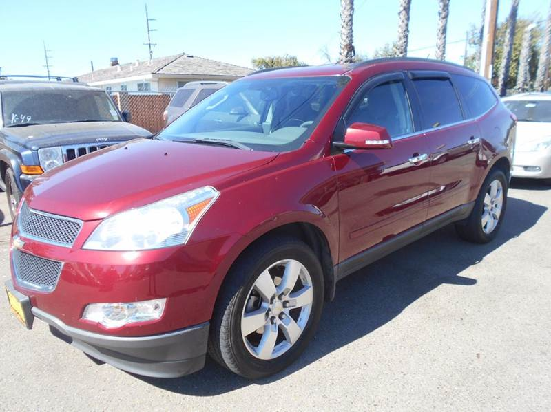 2011 CHEVROLET TRAVERSE LT 4DR SUV W1LT red abs - 4-wheel airbag deactivation - occupant sensin