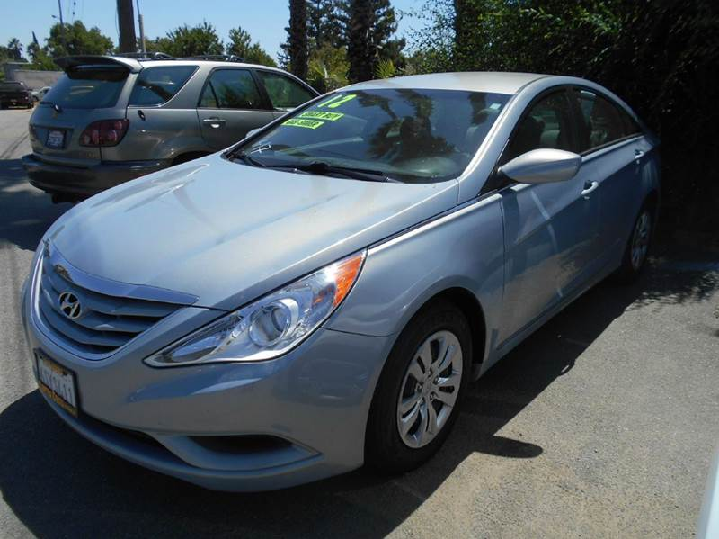 2012 HYUNDAI SONATA GLS 4DR SEDAN blue 2-stage unlocking doors abs - 4-wheel active head restrai