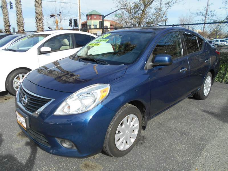 2014 NISSAN VERSA 16 S 4DR SEDAN 4A blue abs - 4-wheel active head restraints - dual front air