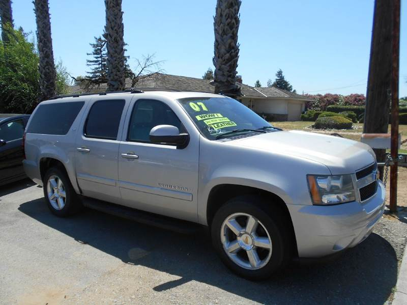 2007 CHEVROLET SUBURBAN LTZ 1500 4DR SUV silver 2-stage unlocking doors abs - 4-wheel active sus
