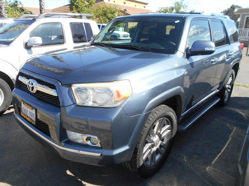 2011 TOYOTA 4RUNNER LIMITED AWD 4DR SUV blue 4wd type - full time abs - 4-wheel active head res