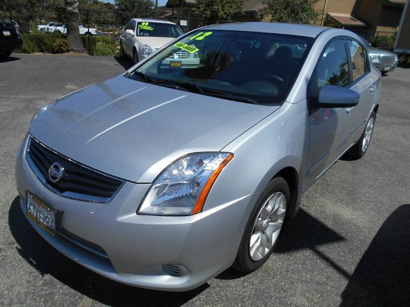 2012 NISSAN SENTRA 20 S 4DR SEDAN silver 2-stage unlocking - remote abs - 4-wheel air filtrati
