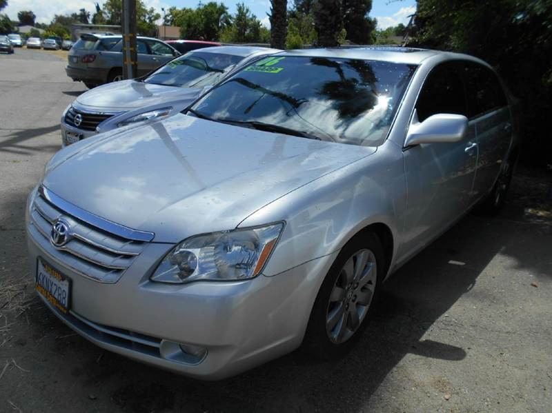 2006 TOYOTA AVALON TOURING 4DR SEDAN silver abs - 4-wheel air filtration airbag deactivation -