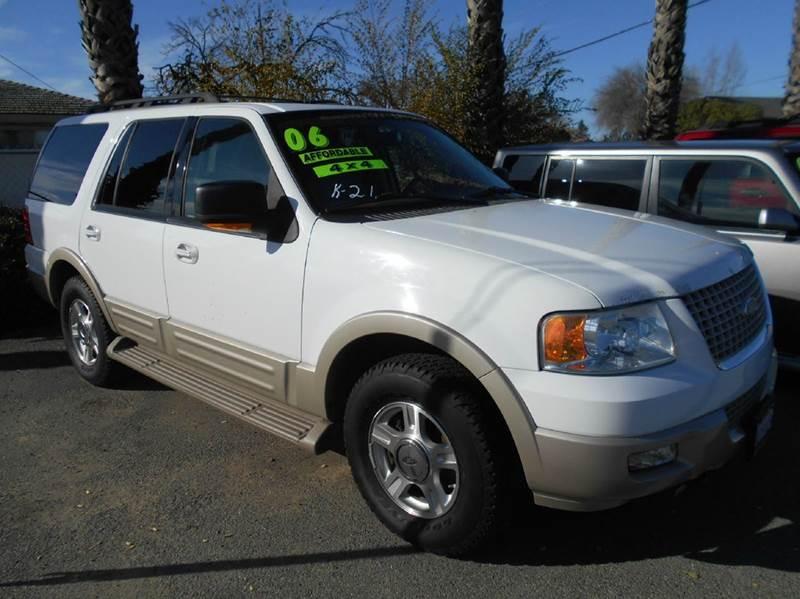 2006 FORD EXPEDITION EDDIE BAUER 4DR SUV 4WD white 4wd type - on demand abs - 4-wheel adjustabl