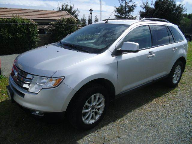 2010 FORD EDGE SEL AWD 4DR SUV silver 2-stage unlocking - remote abs - 4-wheel airbag deactivat