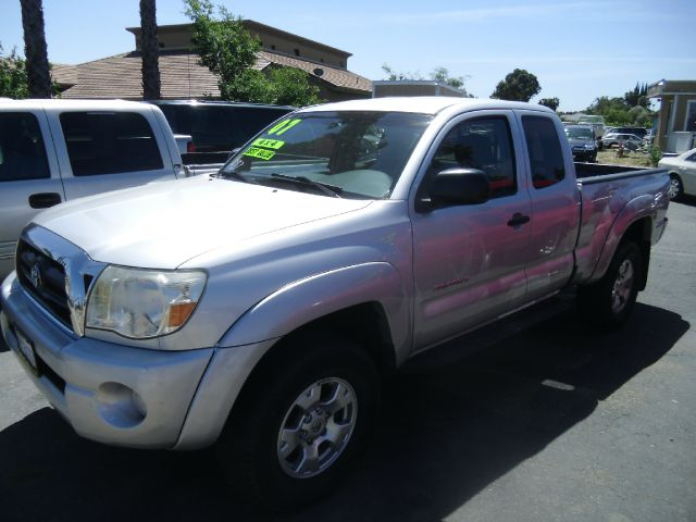 2007 TOYOTA TACOMA TRD V6 4DR ACCESS CAB 4WD 61 FT silver 4wd type - part time abs - 4-wheel a