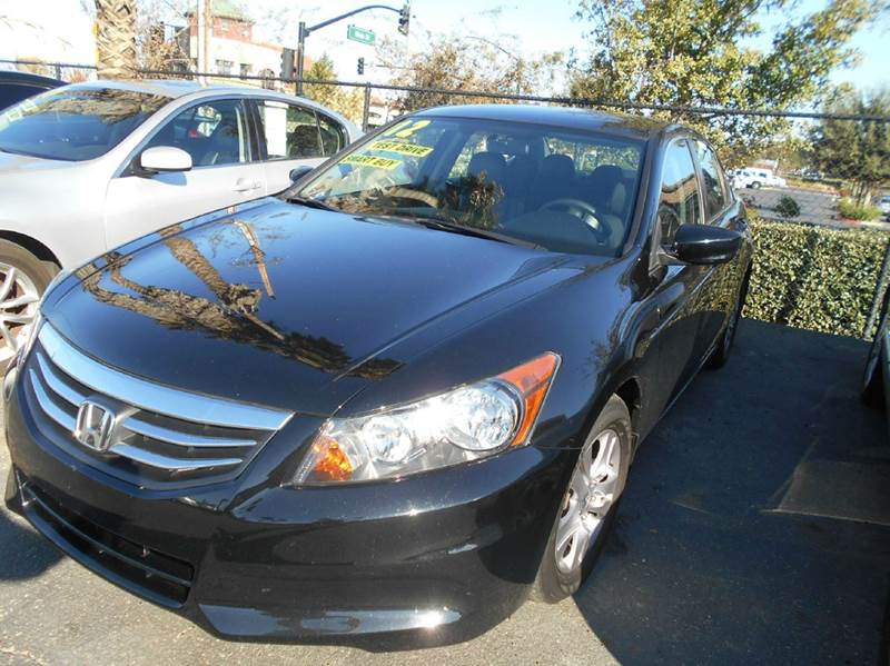 2012 HONDA ACCORD SE 4DR SEDAN black abs - 4-wheel active head restraints - dual front air filt
