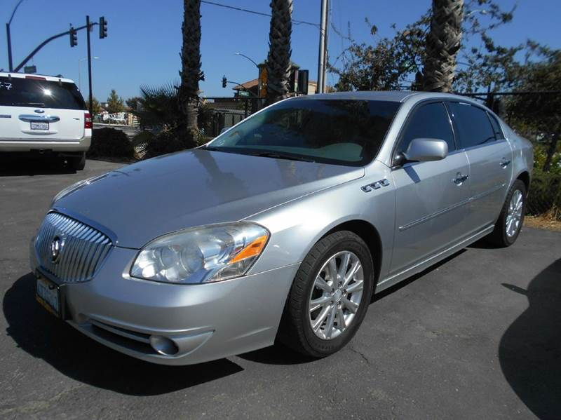 2010 BUICK LUCERNE CXL 4DR SEDAN silver 2-stage unlocking doors abs - 4-wheel air filtration ai