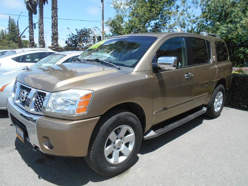 2004 NISSAN ARMADA SE 4WD 4DR SUV gold abs - 4-wheel adjustable pedals - power anti-theft syste
