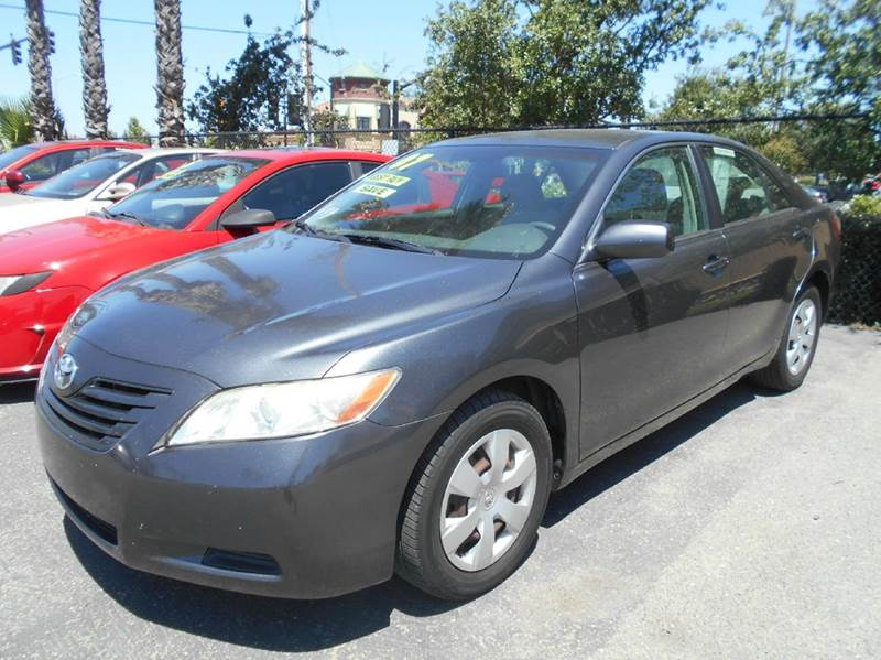 2007 TOYOTA CAMRY LE 4DR SEDAN 24L I4 5A charcoal 2-stage unlocking doors abs - 4-wheel air