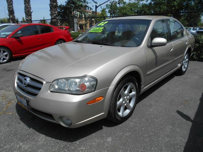2002 NISSAN MAXIMA SE 4DR SEDAN gold abs - 4-wheel anti-theft system - alarm cassette center c