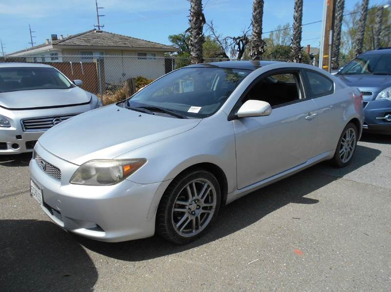 2006 SCION TC BASE 2DR HATCHBACK WAUTOMATIC silver abs - 4-wheel anti-theft system - engine imm
