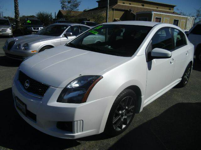 2011 NISSAN SENTRA SE-R SPEC V 4DSEDAN white 2-stage unlocking - remote abs - 4-wheel air filtr