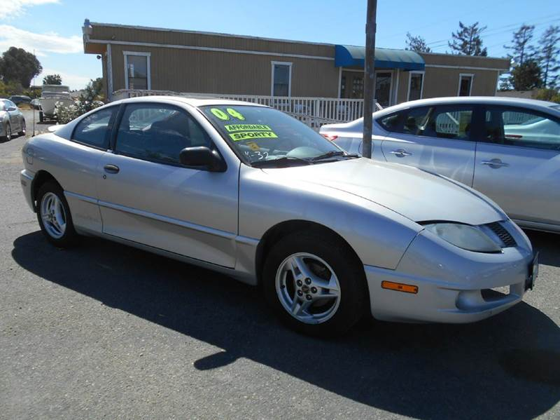 2004 PONTIAC SUNFIRE BASE 2DR COUPE silver anti-theft system - alarm center console clock dayt