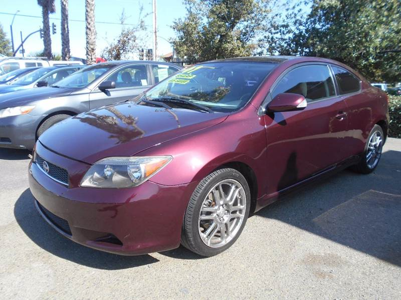 2007 SCION TC BASE 2DR HATCHBACK 24L I4 4A maroon 2-stage unlocking doors abs - 4-wheel ante