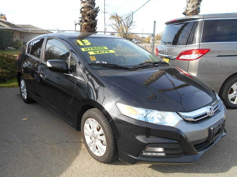 2013 HONDA INSIGHT EX WNAVI 4DR HATCHBACK black abs - 4-wheel active head restraints - dual fron