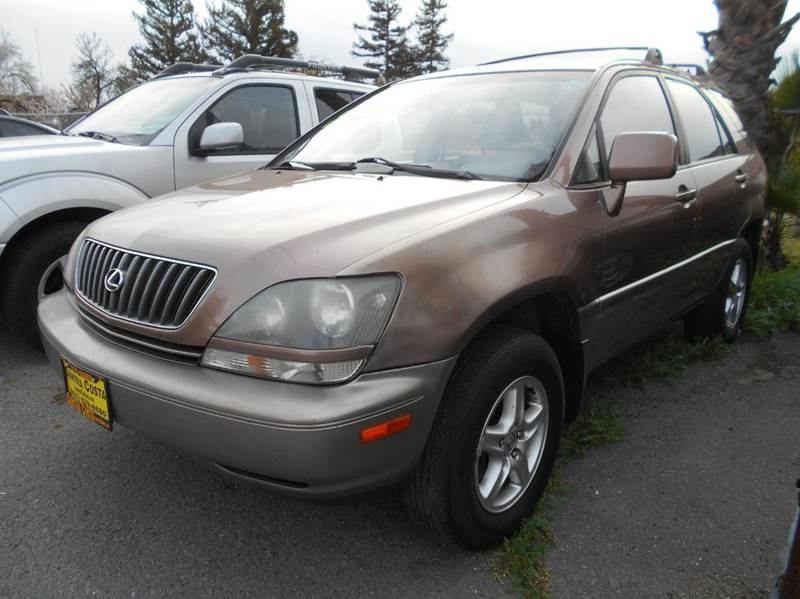 1999 LEXUS RX 300 BASE AWD 4DR SUV copper abs - 4-wheel antenna type - power anti-theft system