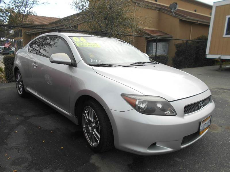 2006 SCION TC BASE 2DR HATCHBACK WMANUAL silver abs - 4-wheel anti-theft system - engine immobi