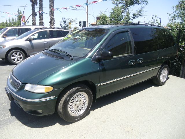 1997 CHRYSLER TOWN AND COUNTRY LX 4DR PASSENGER VAN EXTENDED green 15 inch wheels abs - 4-wheel