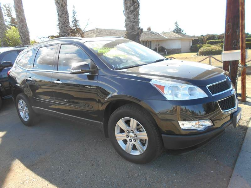 2011 CHEVROLET TRAVERSE black air conditioning alloy wheels amfm radio wcd player anti-lock