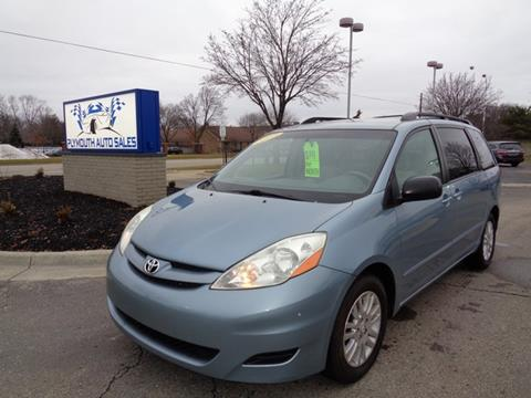 2008 Toyota Sienna for sale in Plymouth, MI