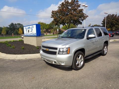 2012 Chevrolet Tahoe for sale in Plymouth, MI