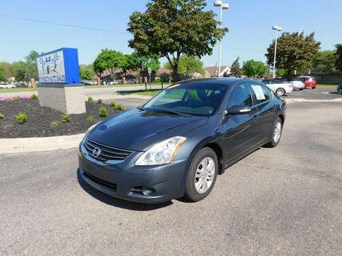 2010 nissan altima for sale in michigan. Black Bedroom Furniture Sets. Home Design Ideas