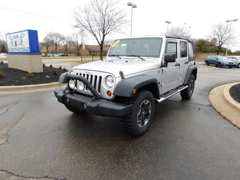 2008 Jeep Wrangler Unlimited for sale in Plymouth, MI