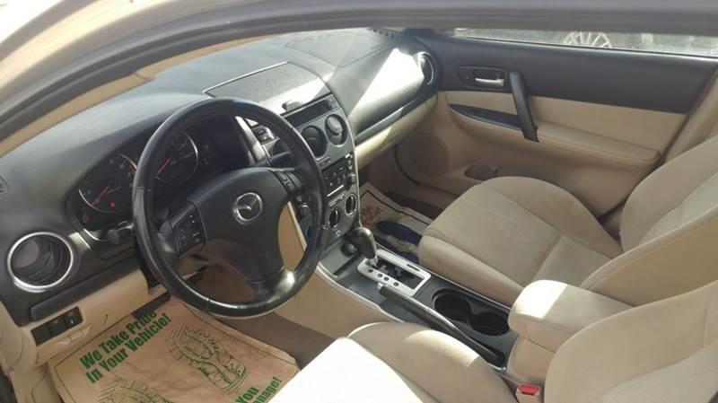 2007 Mazda 6  Miles 82498Color Tan VIN 1YVHP80C675M35118