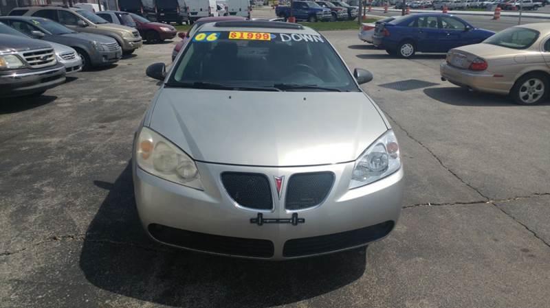 2006 Pontiac G6  Miles 119533Color GRAY Stock 10408 VIN 1G2ZG558964187324