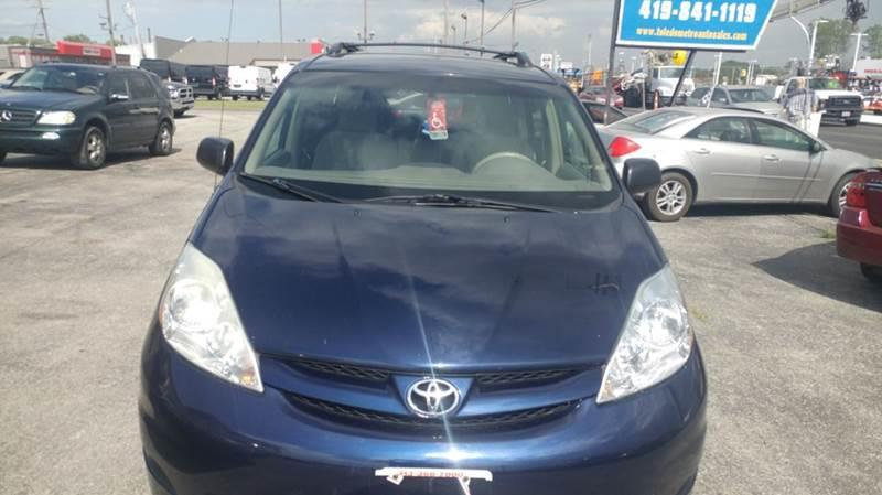 2007 Toyota Sienna  Miles 164000Color Blue VIN 5tdbk23c57s003021