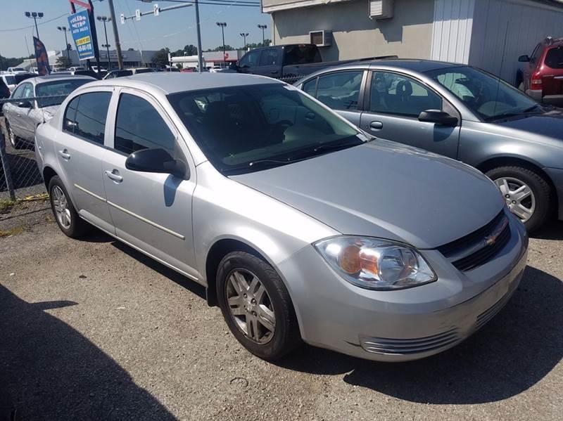 2005 Chevrolet Cobalt  Miles 141239Color SILVER Stock 10449 VIN 1G1AL52F157622415