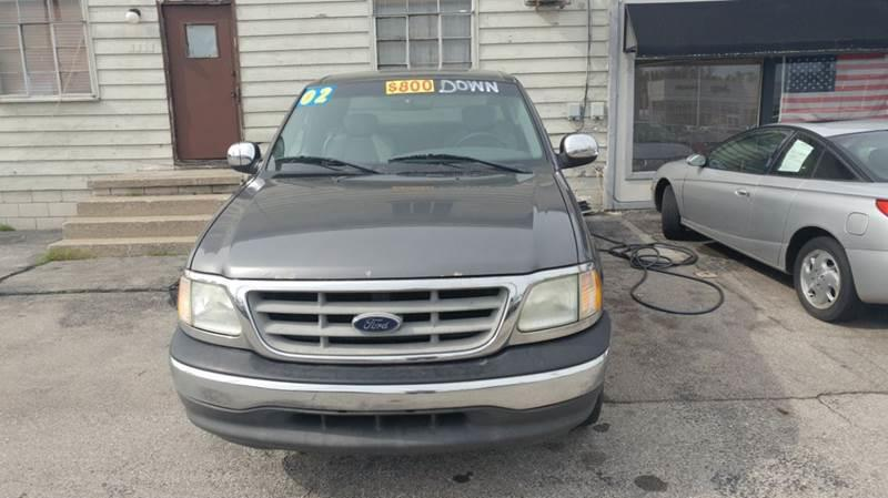 2002 Ford F-150  Miles 177Color GRAY Stock 10391 VIN 2FTRX17W02CA90622