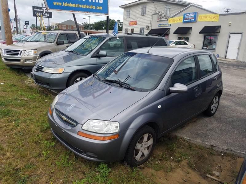 2006 Chevrolet Aveo  Miles 76214Color gray Stock 10209 VIN kl1td66656b666792