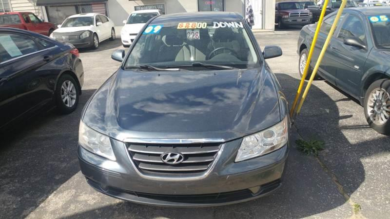 2009 Hyundai Sonata  Miles 89366Color GRAY Stock 10380 VIN 5NPET46C19H573690